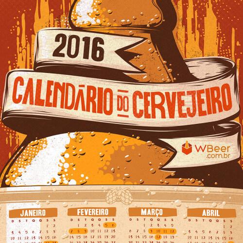 WBeer 2016 Calendar